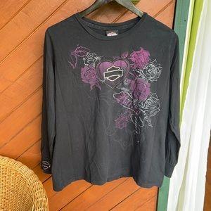 2010 Harley Davidson long sleeve t-shirt